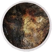 Round Beach Towel featuring the photograph Tree Memories # 21 by Ed Hall