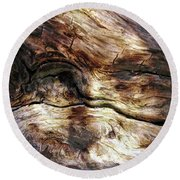 Round Beach Towel featuring the photograph Tree Memories # 30 by Ed Hall