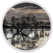 Trees Dream Round Beach Towel