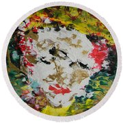 Trinity Panel Three Round Beach Towel