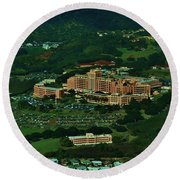 Tripler Army Medical Center Honolulu Round Beach Towel
