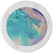 Tropical Thought Round Beach Towel