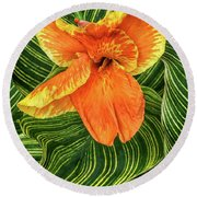 Tropicanna Beauty Round Beach Towel