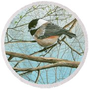 Troublesome Trio Round Beach Towel
