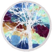 True Wishes Round Beach Towel by Tlynn Brentnall