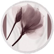 Truly Transient Round Beach Towel