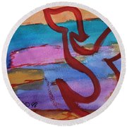Tsade Round Beach Towel