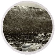 Tucson  Round Beach Towel