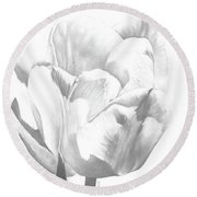 Tulips No. 1 Round Beach Towel