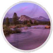 Tuolumne Meadow Round Beach Towel