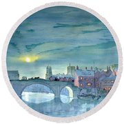 Turner's York Round Beach Towel