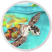 Turtle Creek Round Beach Towel