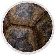 Turtle Shell Round Beach Towel by Racheal  Christian