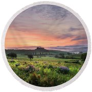 Round Beach Towel featuring the photograph Tuscan Dream I by Yuri Santin