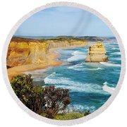 Twelve Apostles Australia Round Beach Towel