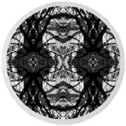 Twelve Trees Round Beach Towel