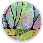 Twilight Iv Round Beach Towel