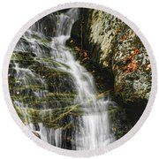 Twin Falls - Nc Round Beach Towel