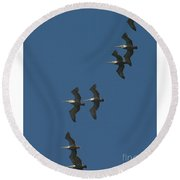 Two By Two Round Beach Towel