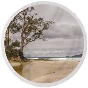 Two Tree Point Round Beach Towel