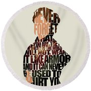 Tyrion Lannister Round Beach Towel