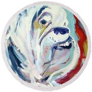 Ugga Side Round Beach Towel