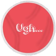 Ugh Round Beach Towel