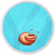 Ugly Bug Round Beach Towel