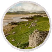 Uig Sands - Isle Of Lewis Round Beach Towel