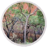 Uluru 05 Round Beach Towel