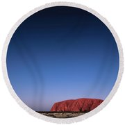 Uluru Starry Night Round Beach Towel