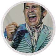 Uncle Arthur Round Beach Towel