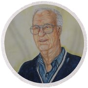 Uncle Charley Round Beach Towel