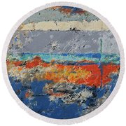 Uncovered Round Beach Towel