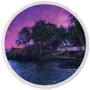 Undreamed Shores - Chesapeake Art Round Beach Towel
