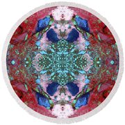 Unearthed Beauty Round Beach Towel