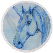 Unicorn 3 Round Beach Towel