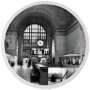 Union Station Round Beach Towel