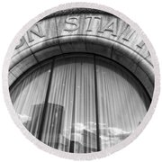 Union Station Nashville Tennessee Round Beach Towel by Dan Sproul