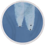 United States Air Force Thunderbirds Round Beach Towel