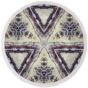 Unity Service Recovery Round Beach Towel