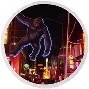 Universal King Kong Round Beach Towel