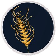 unTANGLEwhEAT II Round Beach Towel