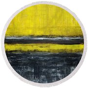 Untitled No. 11 Round Beach Towel