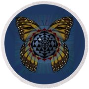 Transforming Meditation Round Beach Towel