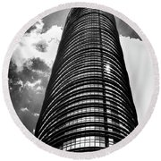 Round Beach Towel featuring the photograph Up Up And Up by Joseph Hollingsworth