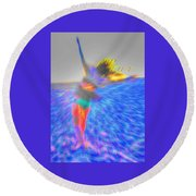 Uplift Round Beach Towel