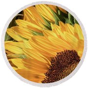 Upward Glance -  Round Beach Towel