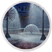 Urban Art Round Beach Towel