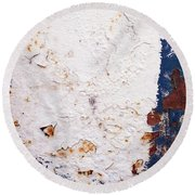 Urban Living Abstract 1 Round Beach Towel